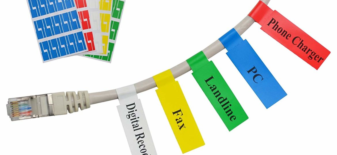 Wire Identification Labels - Printed Labels