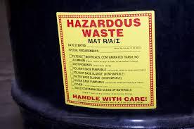 hazard drum labels chemicals
