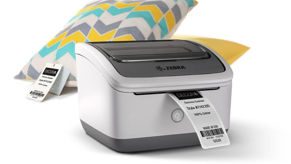 zebra zsb wireless barcode label printer